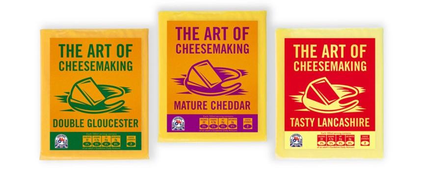 Artisan cheese range