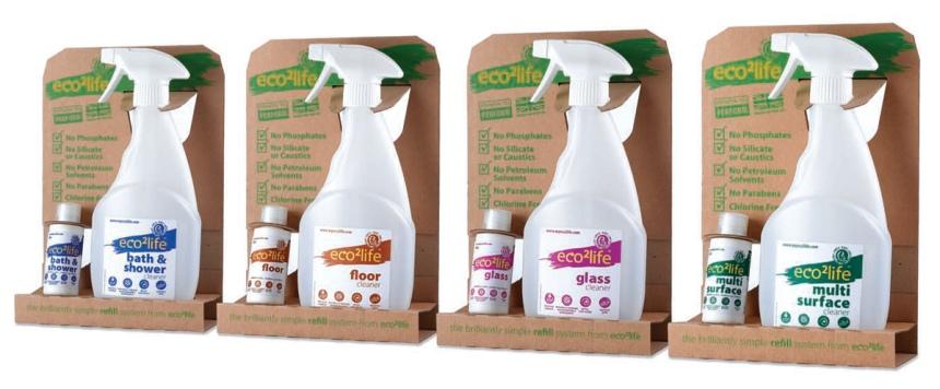 eco2life cleaning range