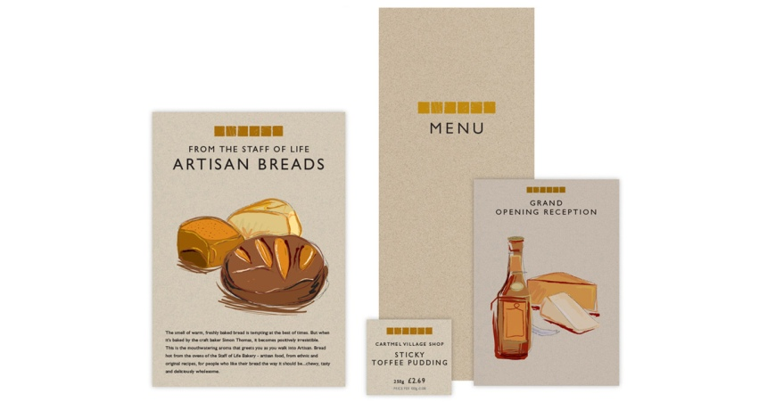 Artisan restaurant and food store
