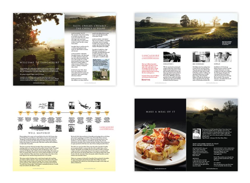 Lancashire Cheese producers leaflet