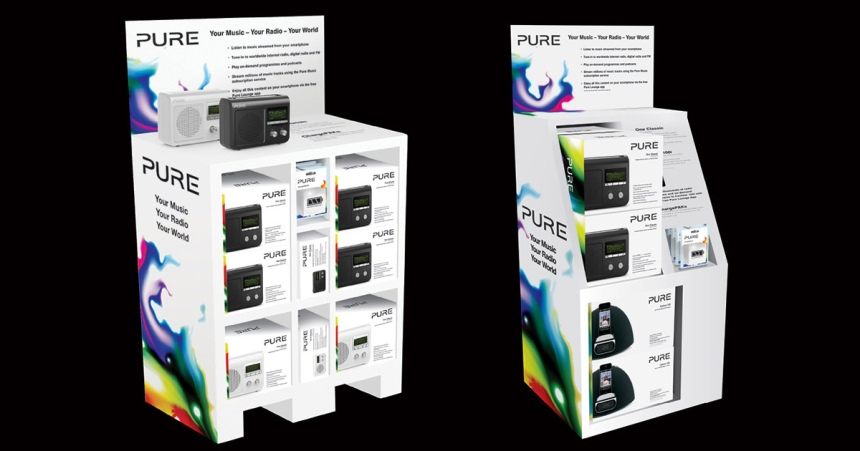 PURE radio display FSDU