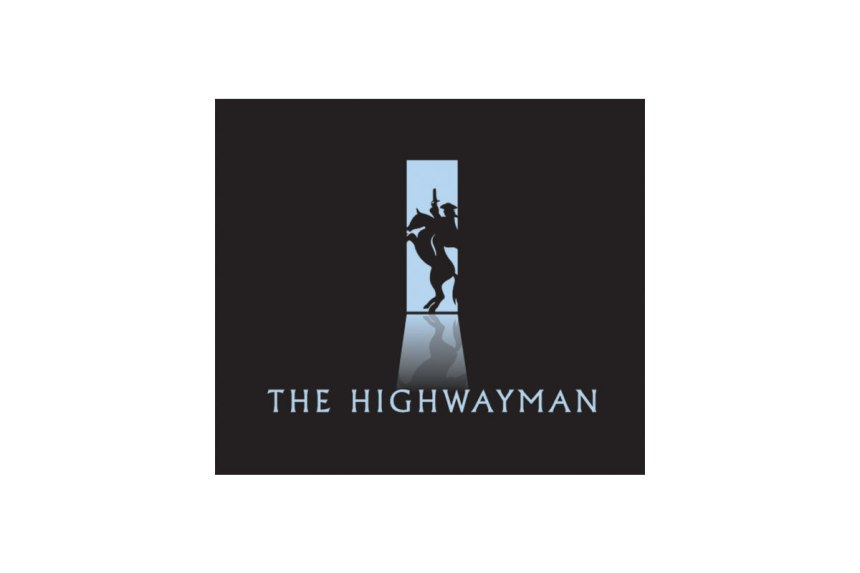 clear simple monogram for the illusive highwayman