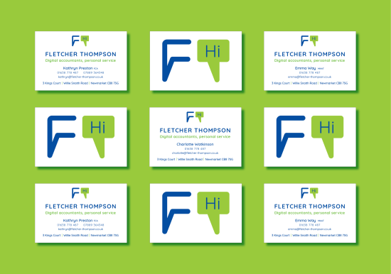 Fletcher Thompsons stationery