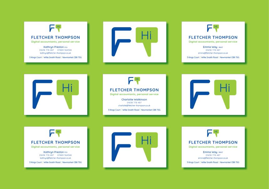 Fletcher Thompsons stationery