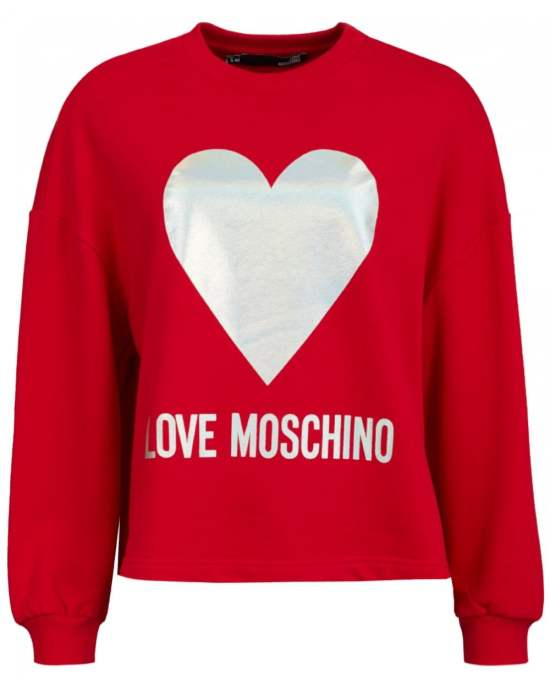 Moschino heart jumper