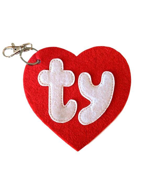 TY heart logo
