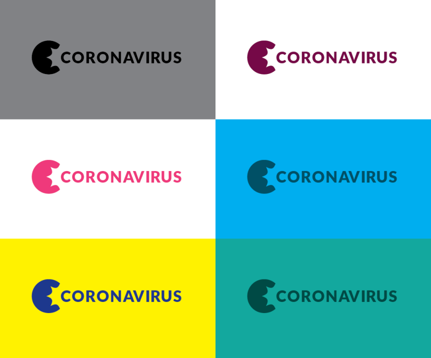 Coronavirus long word mark options